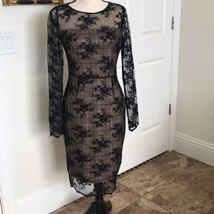 This dress is a knock out.  Bailey 44 black lace